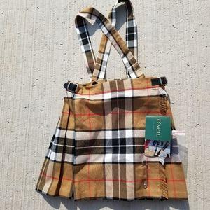NWT O'Neill tartan skirt